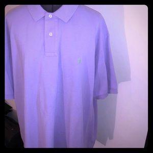 Men's Purple Polo Ralph Lauren Polo Shirt XXL